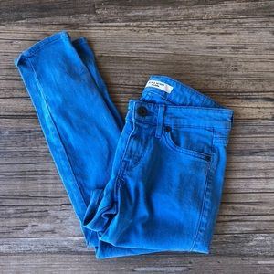 Rich & Skinny blue cropped skinny jeans